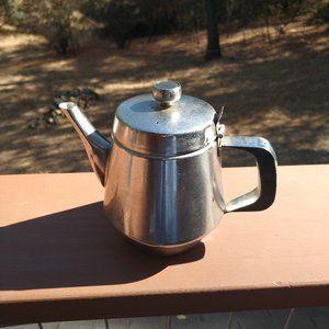 Vintage Silver Metal Teapot 20 oz.